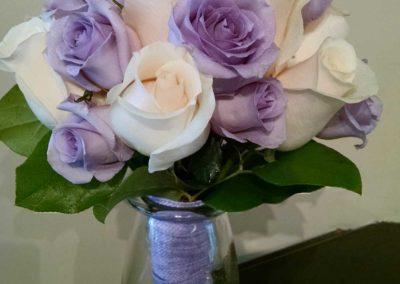 Bridal Bouquet Roses Mauve