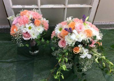 Bridal Bouquet Pink Peach purple