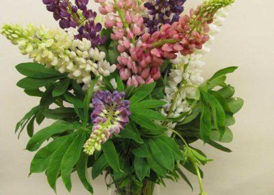 Bridal Bouquet Purples