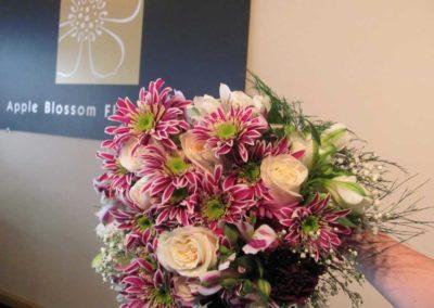 Bridal Fushia Green Bouquet