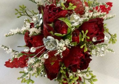 Corsage Red